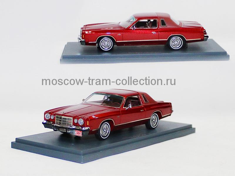 Масштабная коллекционная модель Dodge Charger