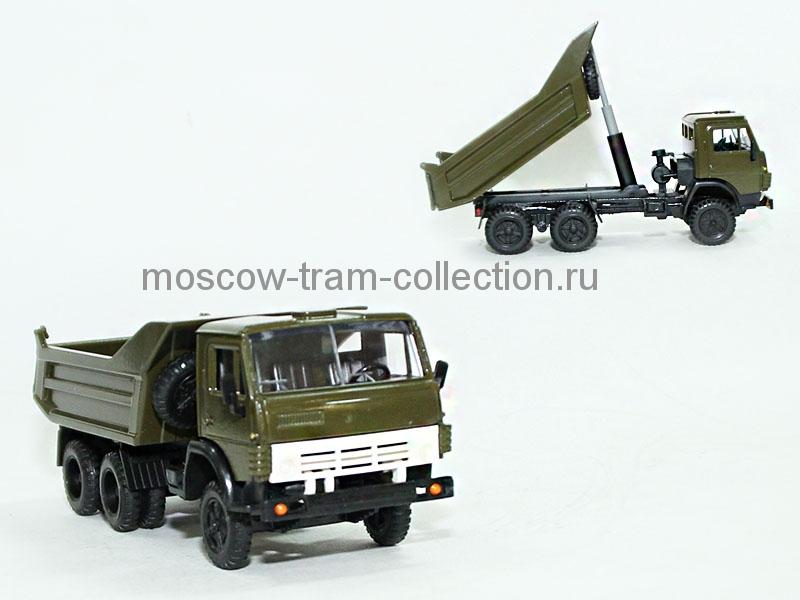 Масштабная коллекционная модель КамАЗ 55111