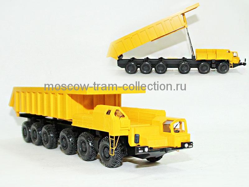 Коллекционные масштабные модели Маз 547 В самосвал тип 1