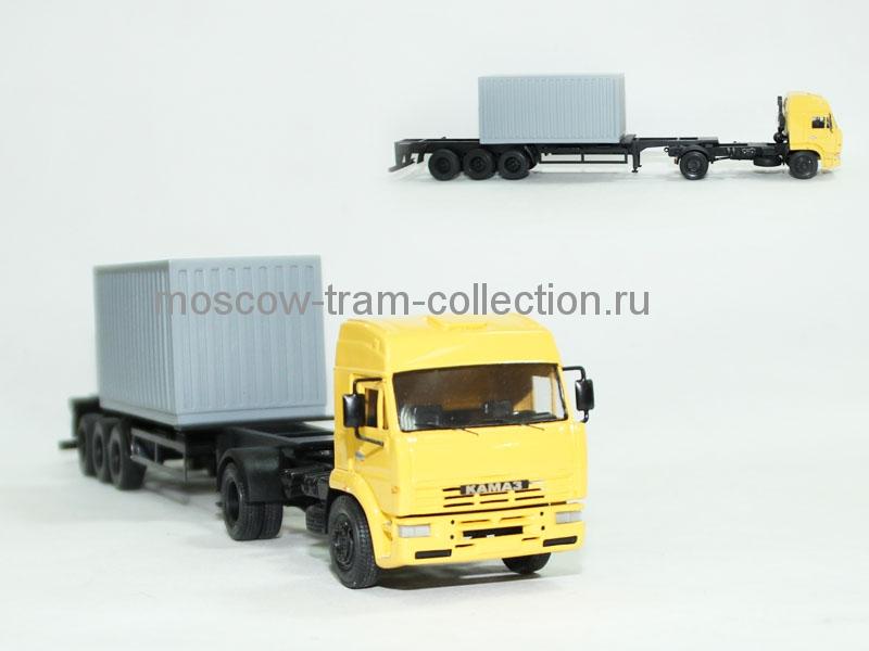 Камаз 5460 + короткий контейнер 20 ф