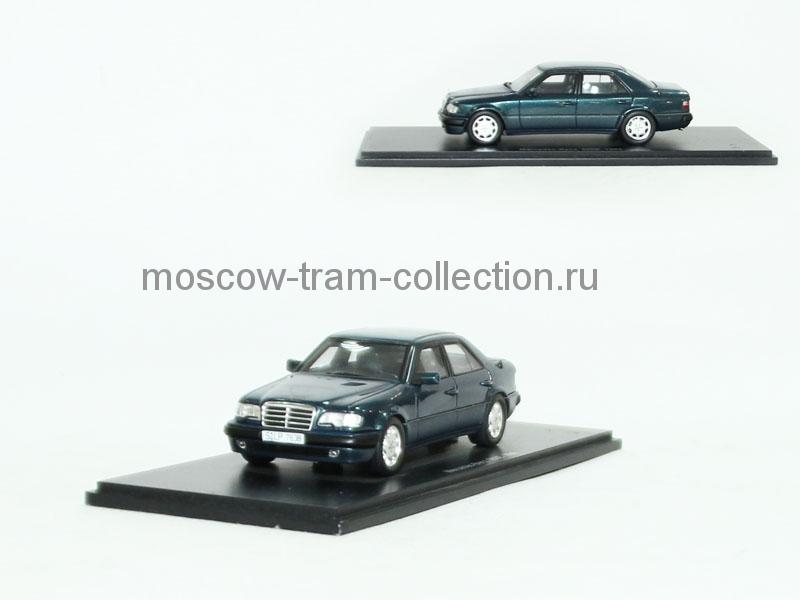Коллекционные масштабные модели Mercedes-Benz 500E 1986