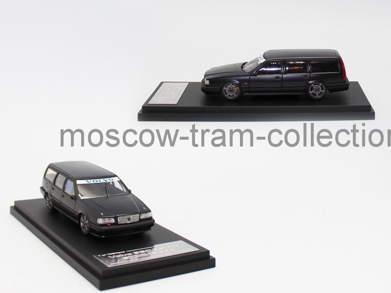 Коллекционная масштабная модель 1:43 Volvo 850 Estate BTCC (Black)
