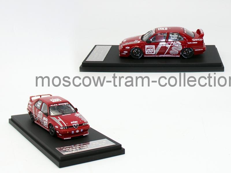Коллекционная масштабная модель 1:43 Alfa Romeo 155 TS 1994 CET (#155)