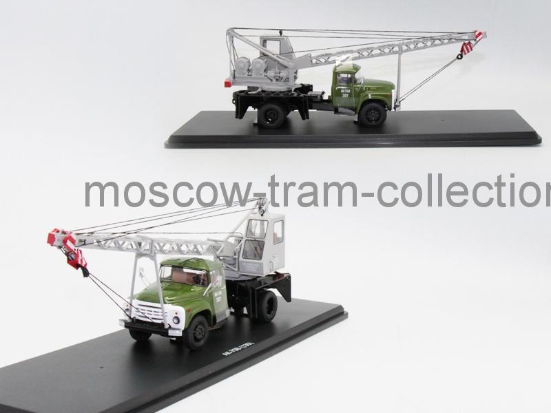Коллекционная масштабная модель 1:43 ЗИЛ-130, АК-75В