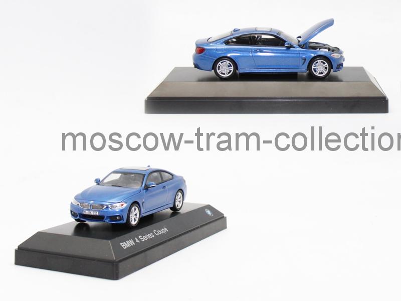 Коллекционная масштабная модель 1:43 BMW 4 Series Coupe