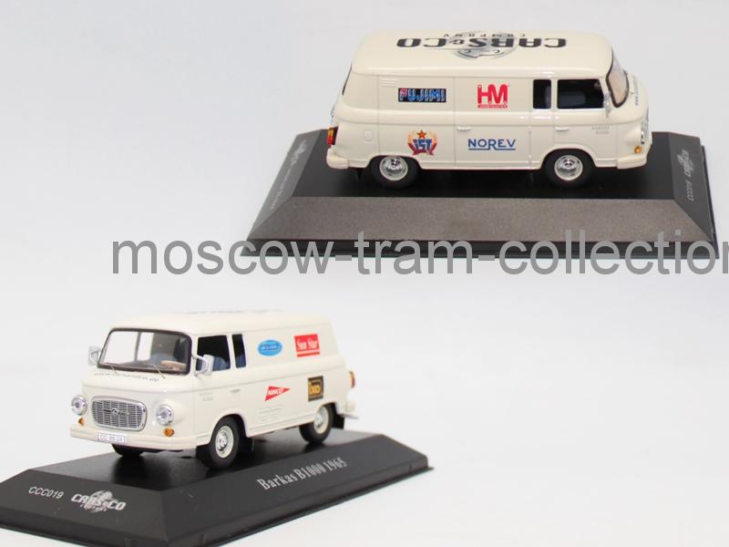 Коллекционная масштабная модель 1:43 Barkas B1000 1965г
