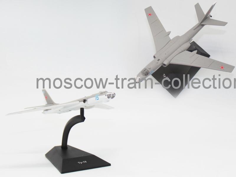 Коллекционная масштабная модель 1:43 Выпуск №098 Ту-16