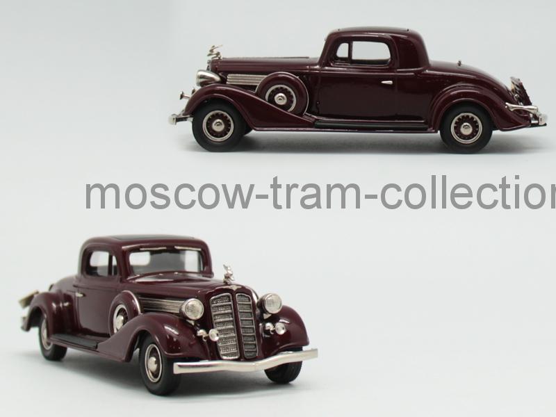 Коллекционная масштабная модель 1:43 Buick 1935 Sports coupe 96 S
