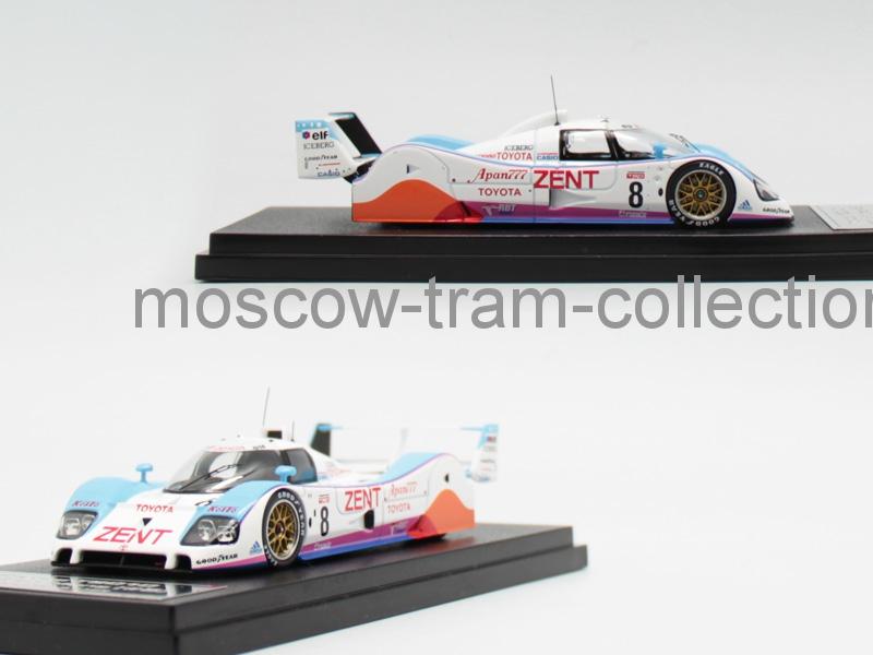 Коллекционная масштабная модель 1:43 Toyota TS010 1992 Le Mans