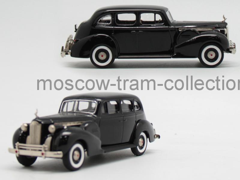 Коллекционная масштабная модель 1:43 Packard Super Eight 1940, black