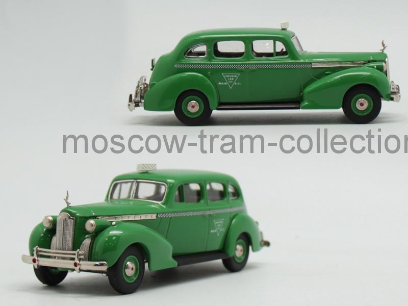 Коллекционная масштабная модель 1:43 Packard Super Eight 1940, taxi