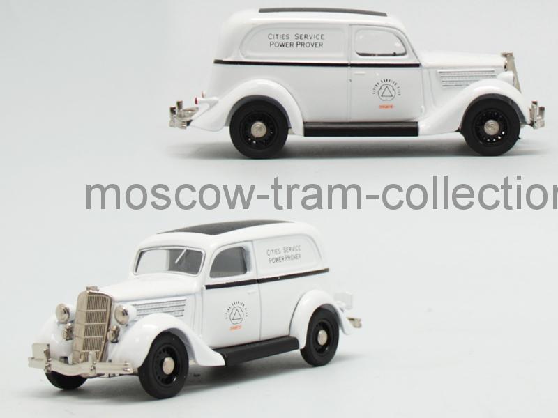 Коллекционная масштабная модель 1:43 Ford V8 1935, service