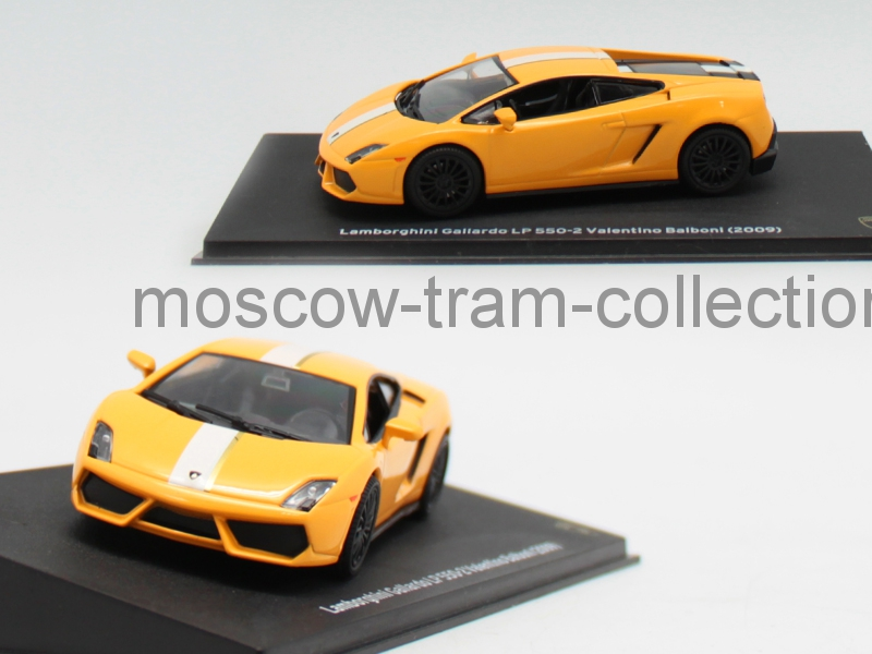 Коллекционные масштабные модели Lamborghini Gallardo LP 550-2 Valentino Balboni 2009
