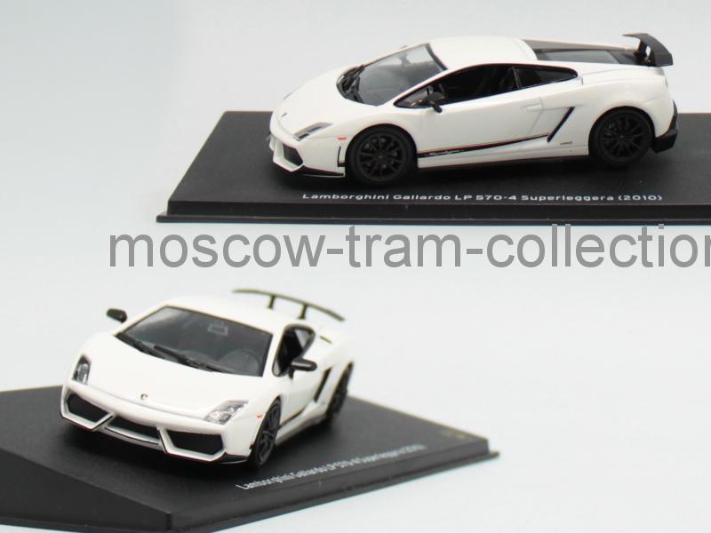 Коллекционная масштабная модель 1:43 Lamborghini Gallardo LP 570-4 Superleggera 2010