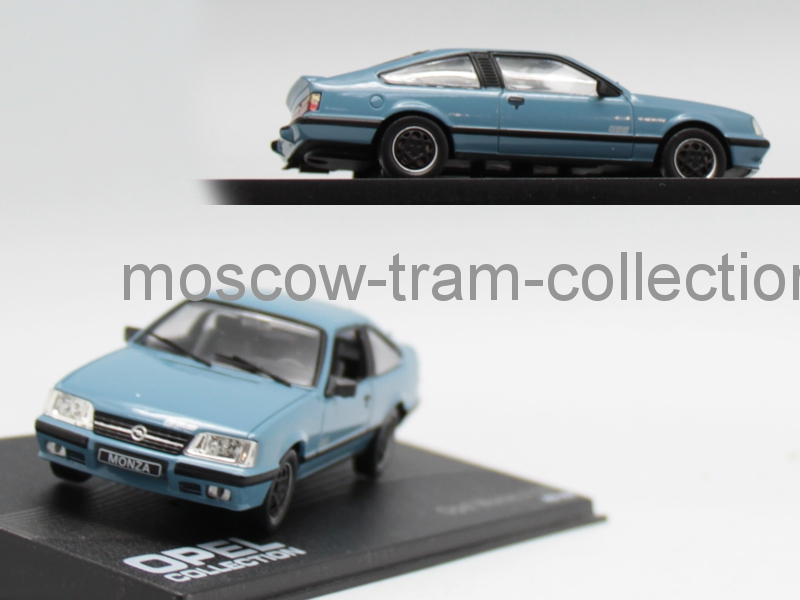 Коллекционная масштабная модель 1:43 Opel Monza A GSE 1983-1986