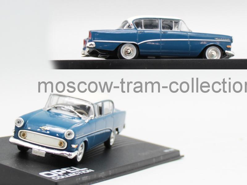 Коллекционная масштабная модель 1:43 Opel Kapitan PI Limousine 1958-1959