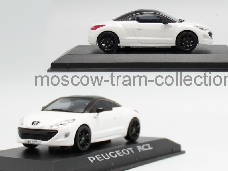 Коллекционная масштабная модель 1:43 Peugeot RCZ