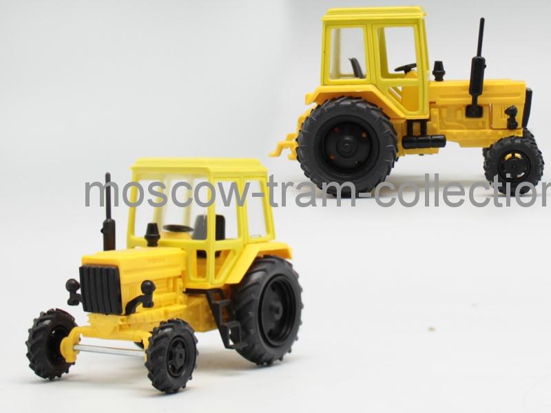 Коллекционная масштабная модель 1:43 МТЗ-82  Пластик