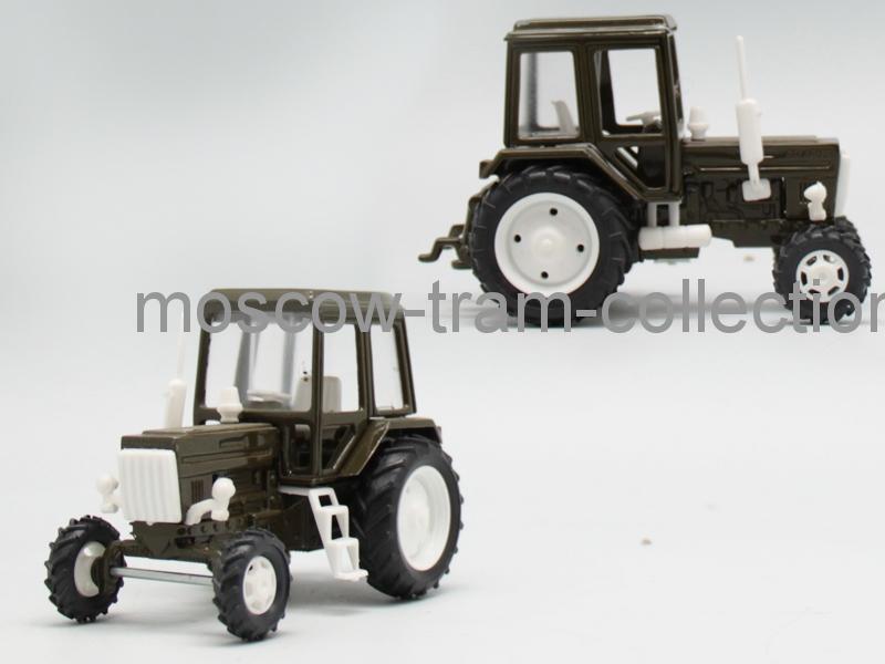 Коллекционная масштабная модель 1:43 МТЗ-82  Металл