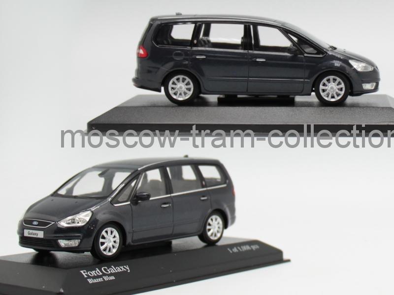 Коллекционная масштабная модель 1:43 Ford Galaxy 2006