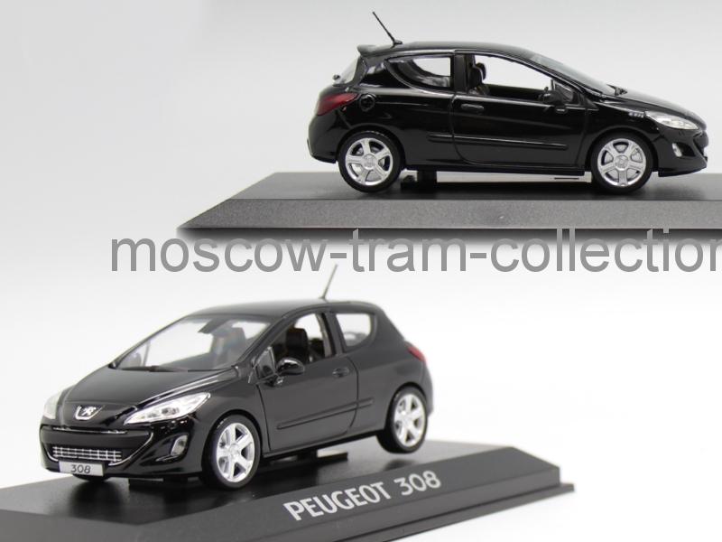 Коллекционные масштабные модели Peugeot 308 175 THP