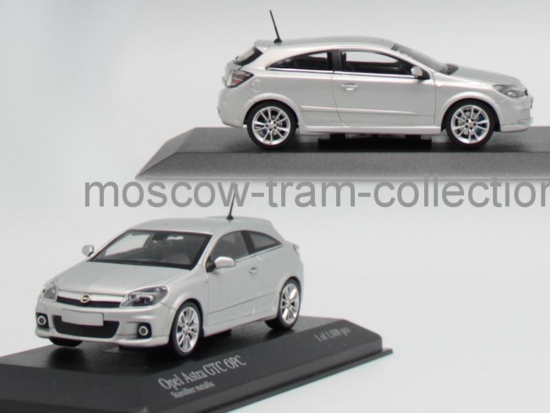 Коллекционная масштабная модель 1:43 Opel Astra GTC OPC 2006 Silver