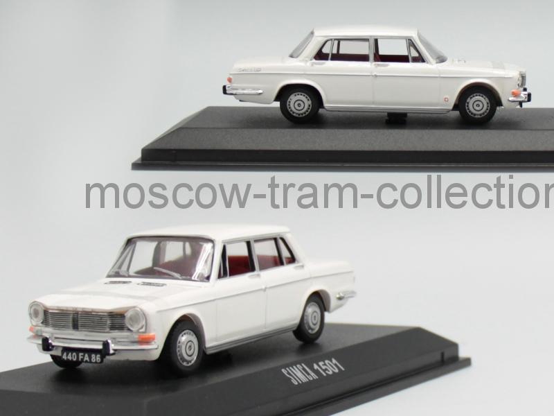 Коллекционная масштабная модель 1:43 Simca 1501