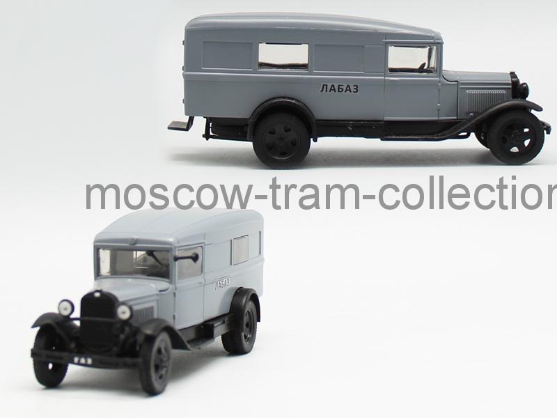 """Коллекционная масштабная модель 1:43 Горький 55 """"ЛАБАЗ"""""""