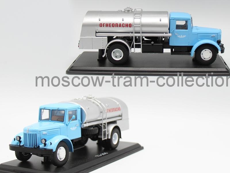 Коллекционная масштабная модель 1:43 Маз ТЗ-200 огнеопасно
