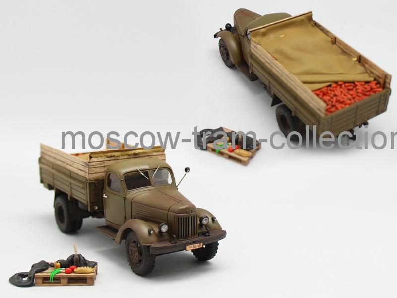 """Коллекционная масштабная модель 1:43 Зил 164 """"Урожай"""" Морковь, со сл. эксплуатации"""