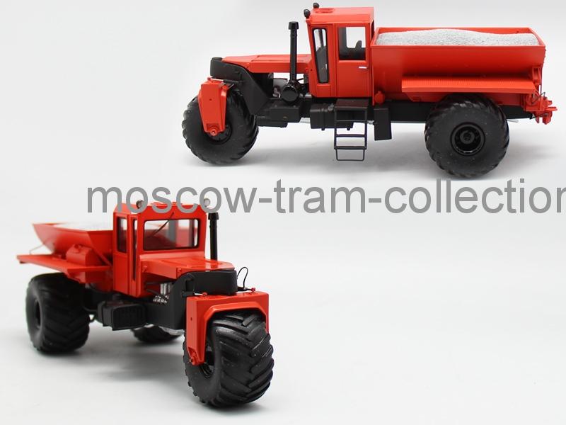 Коллекционная масштабная модель 1:43 МВУ-30 оранжевый