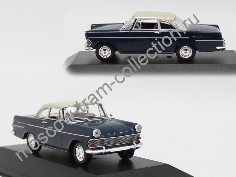 Коллекционная масштабная модель 1:43 Opel Rekord P2 1960-62