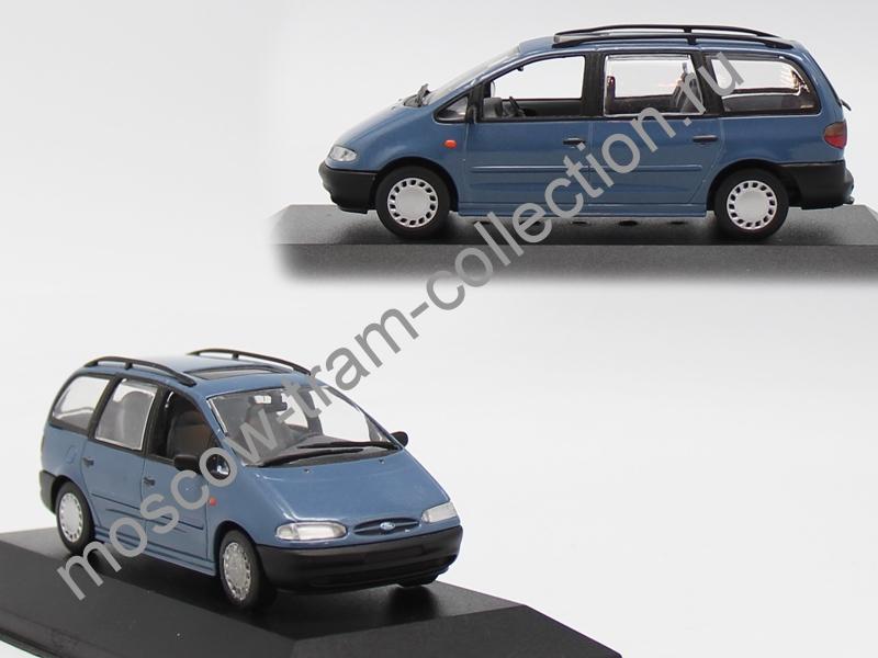 Коллекционная масштабная модель 1:43 Ford Galaxy 1995