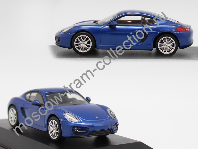 Коллекционная масштабная модель 1:43 Porsche Caymann