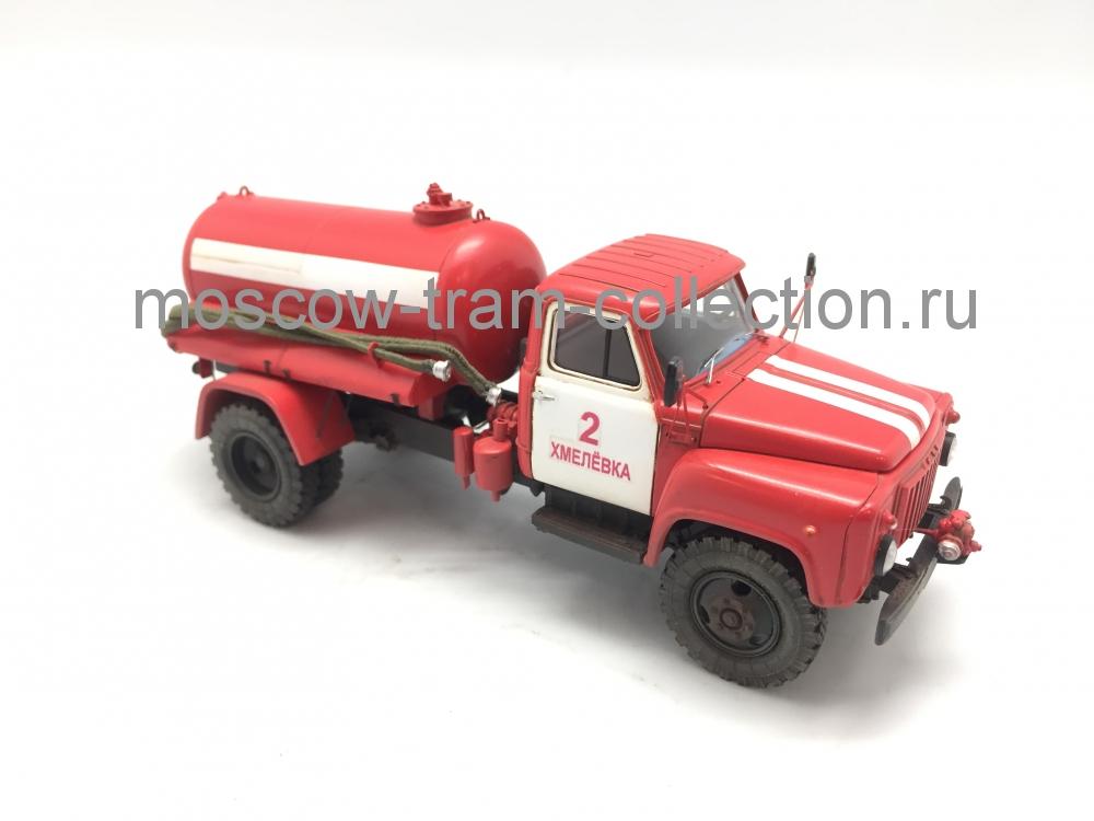 Коллекционная масштабная модель 1:43 Сельская пожарная КО-503, 53-12
