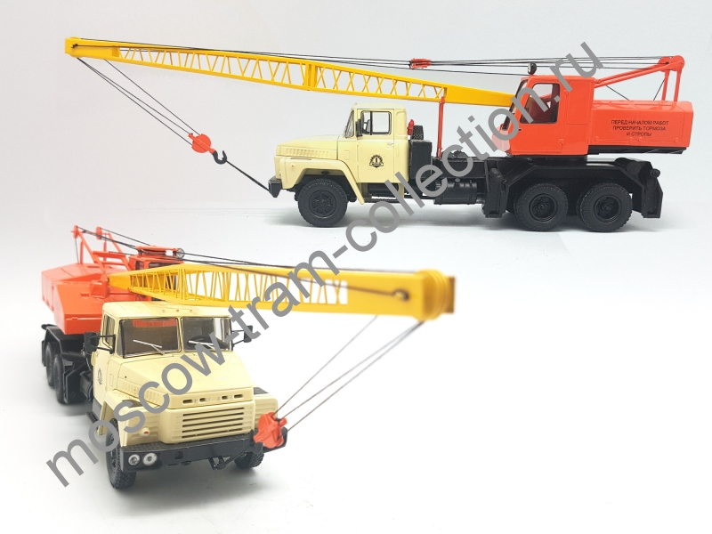 Коллекционная масштабная модель 1:43 КС-4562