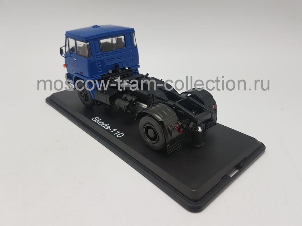 Коллекционная масштабная модель 1:43 LIAZ-110.471 седельный тягач синий