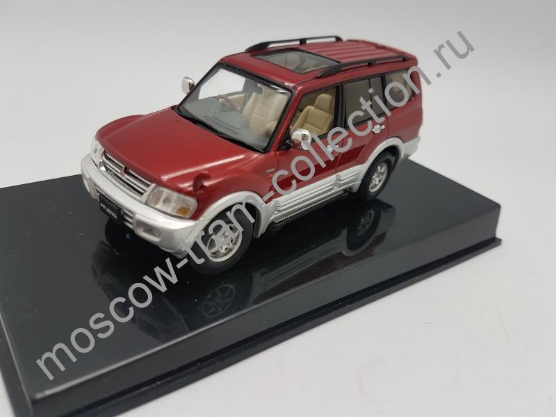 Коллекционная масштабная модель 1:43 Mitsubishi Pagero 1999 LWB 4DRS (RED)