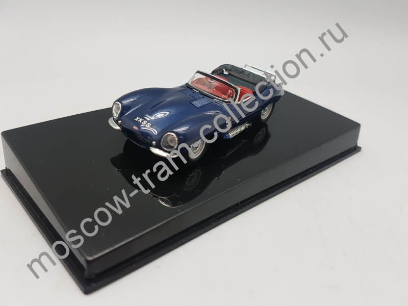 Коллекционная масштабная модель 1:43 Jaguar D-Type (SHORT NOSE) (RACING GREEN)