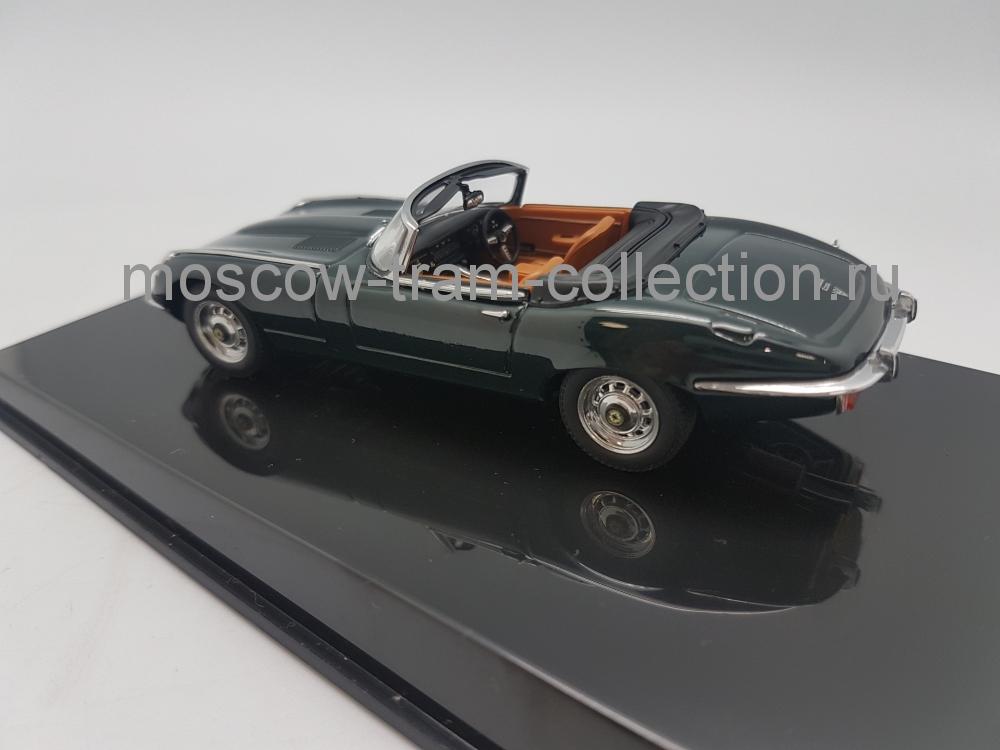 Коллекционная масштабная модель 1:43 Jaguar E-Type Roadster Series III V12 Green