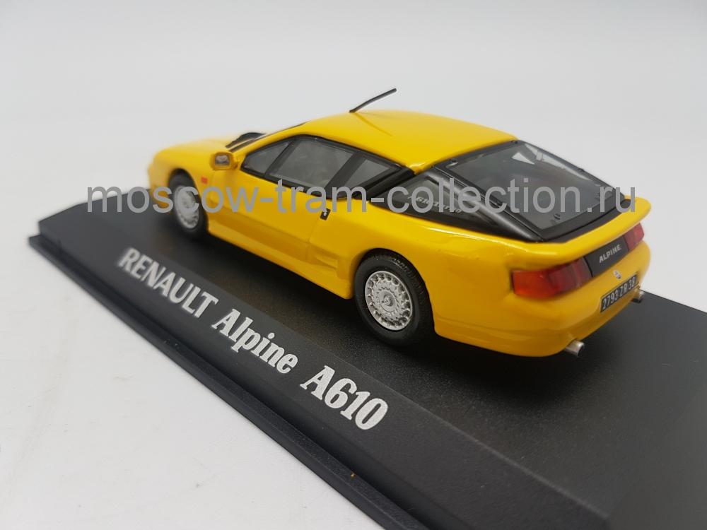 Коллекционная масштабная модель 1:43 Renault Alpine A610
