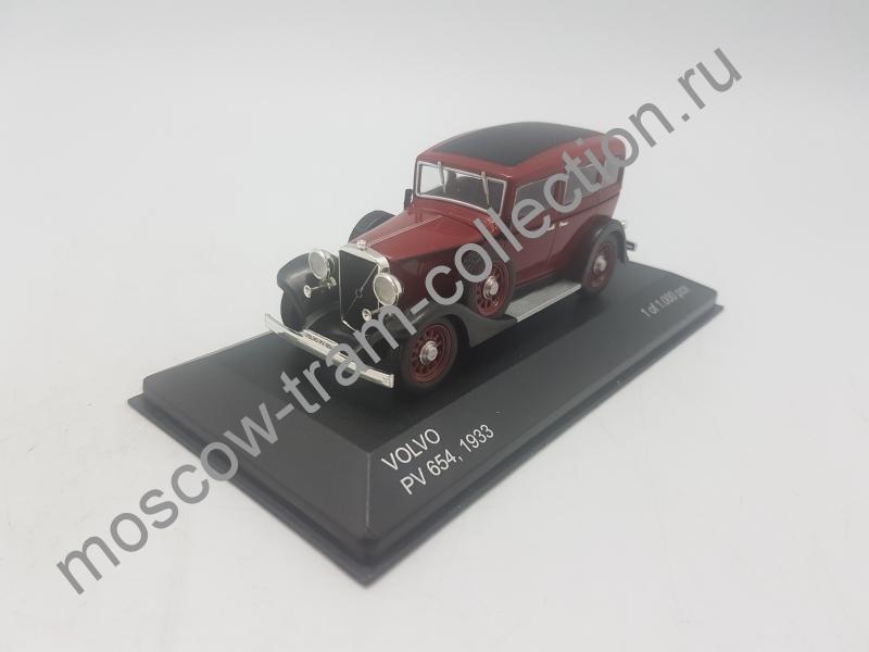 Коллекционная масштабная модель 1:43 Volvo PV 654 1933