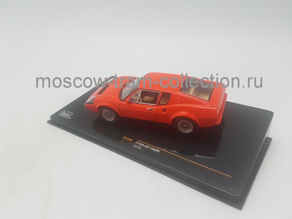 Коллекционная масштабная модель 1:43 Ligier JS2 Coupe 1972 Red