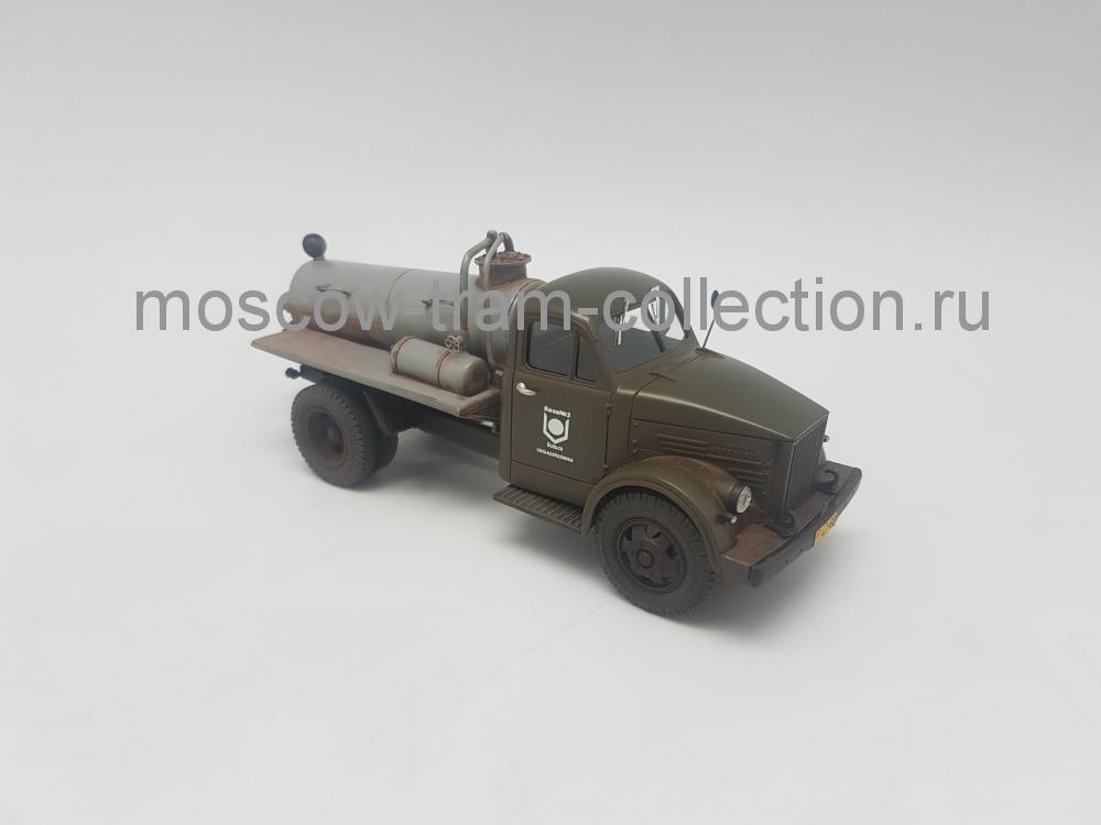 Коллекционная масштабная модель 1:43 АСМ-2 (ГАЗ-51) ассенизационная машина