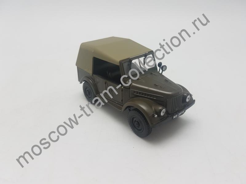 Коллекционная масштабная модель 1:43 GAZ 69A