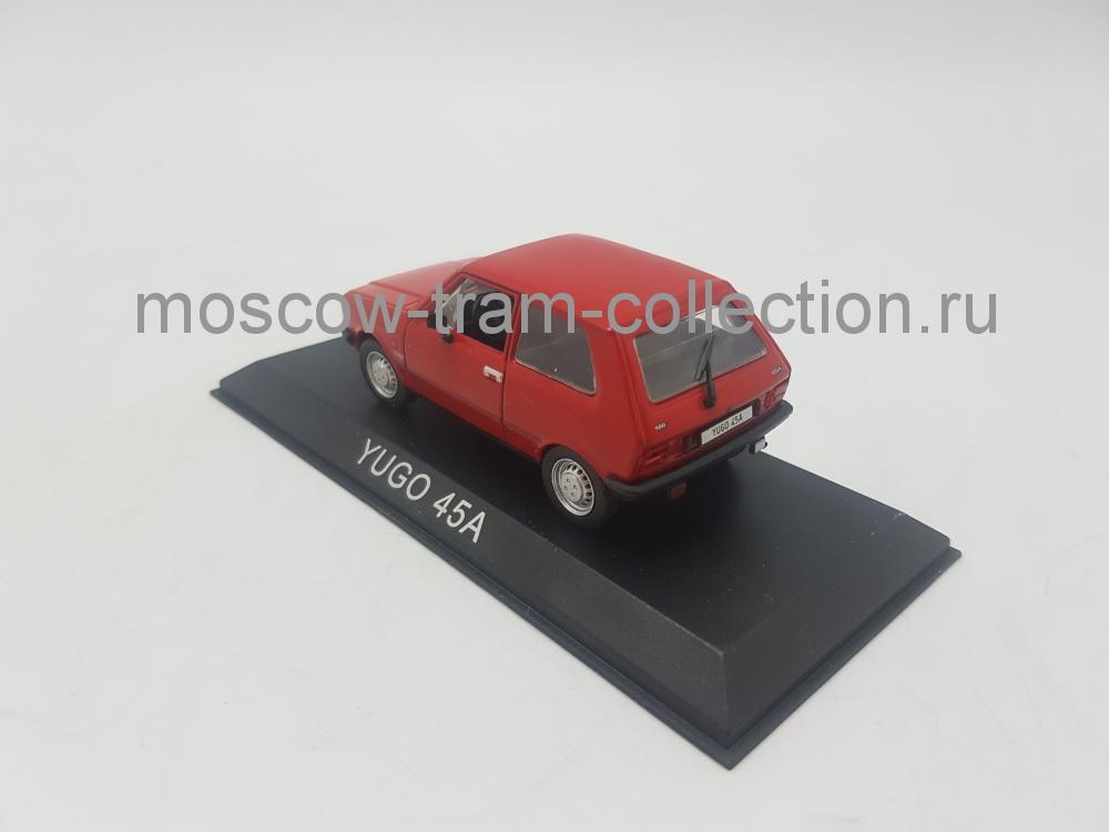 Коллекционная масштабная модель 1:43 Yugo 45A