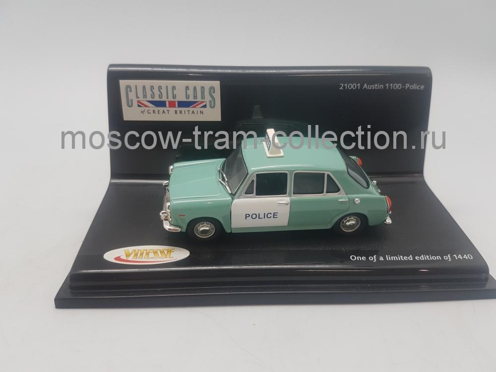 Коллекционная масштабная модель 1:43 Austin 1100 Police