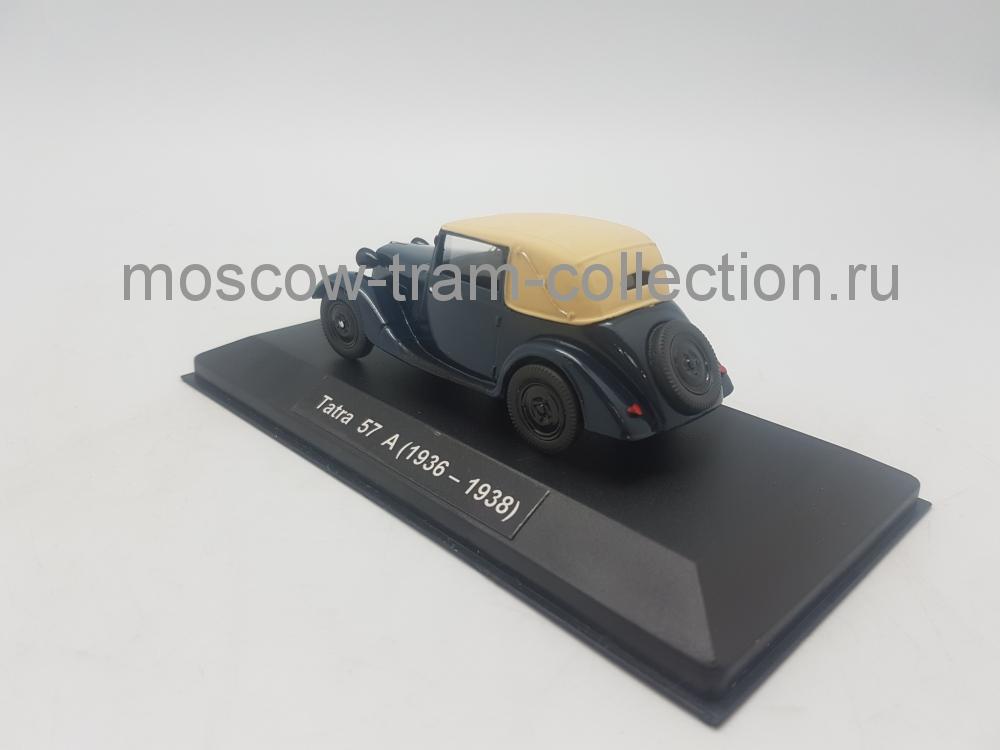 Коллекционная масштабная модель 1:43 Tatra 57A (1936-1938)