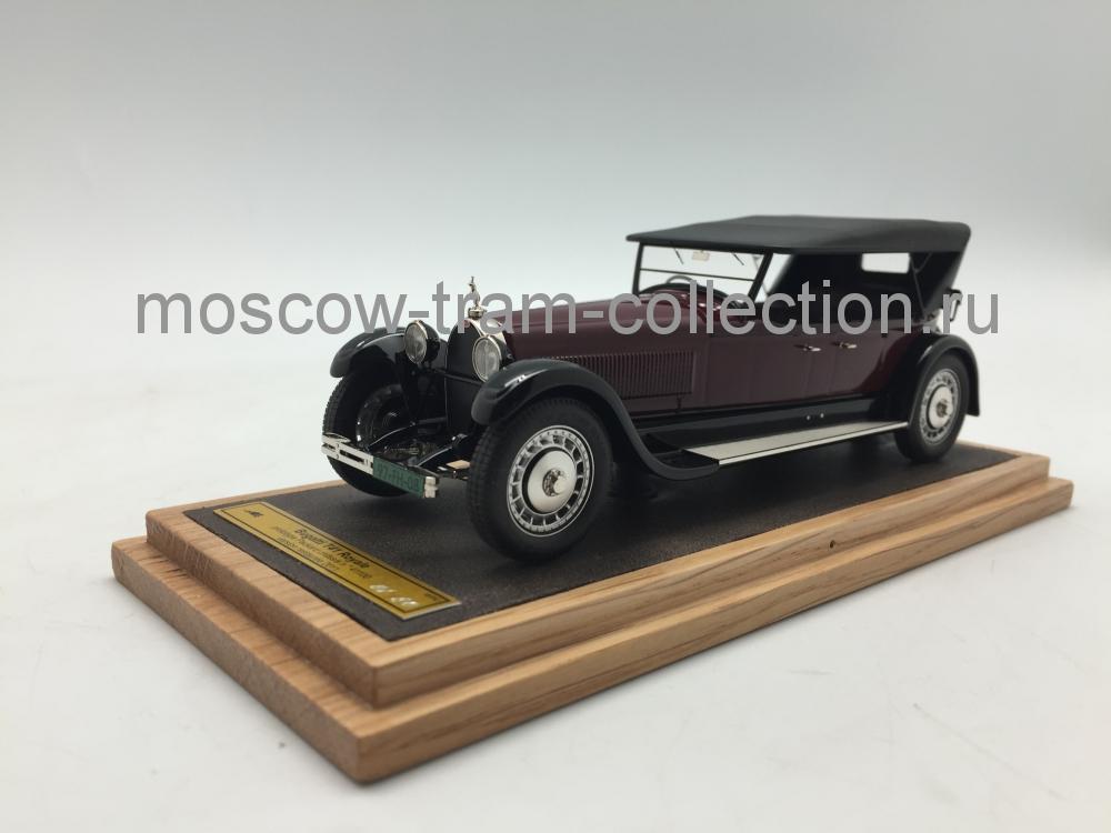 Коллекционная масштабная модель 1:43 Bugatti T41 Royale тираж 80 штук