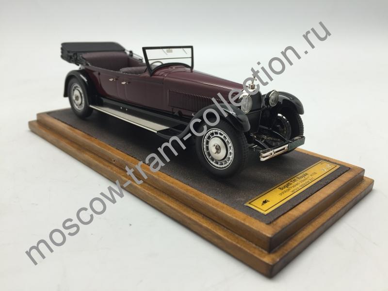 Коллекционная масштабная модель 1:43 Bugatti T41 Royale тираж 50 штук